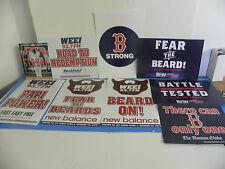 MLB Boston Red Sox Post Season 2013 8 Poster Package