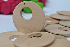 20 LARGE Wooden Wood Earring Pendants Necklace DIY Jewelry Supply
