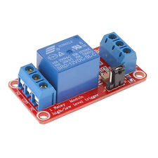 USA !! 1 PC 12VDC OR 5VDC,1 CHANNEL HIGH OR LOW LEVEL INPUT ,OPTO RELAY BOARD