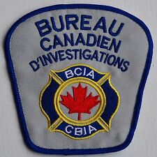 Canada Bureau Security Service Sécurité French Patch Badge Insigne Crest Logo