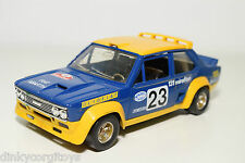 BBURAGO BURAGO 145 FIAT 131 ABARTH RALLY SAN REMO BLUE NEAR MINT CONDITION