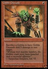 MAGIC GOBLIN GRENADE - GRANATA GOBLIN  Christopher Rush Art (FALLEN EMPIRES)