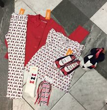 New Gymboree Ciao Puppy Lot Jacket Leggings 7-8 Socks Purse Pony-O Shoes 13