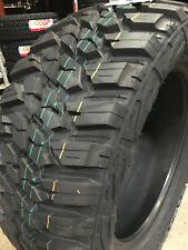 4 NEW 33x12.50R17 Kanati Mud Hog M/T Mud Tires MT 33 12.50 17 R17 10 ply 33 1250
