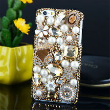 Glitter Luxury Bling Diamonds Crystal hard Back PC Case Cover Skin For Lenovo-3