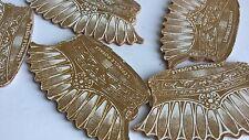 VINTAGE SET OF 5 SEWING PIN FANS 1900 or earlier, and bonus dressmaker pins NOS