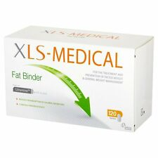 XLS MEDICAL legante Grasso Perdita di Peso Pillole Dimagranti 120 compresse NUOVO CON SCATOLA UK