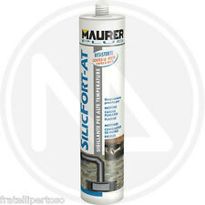 "SILICONE ROSSO ALTA TEMPERATURA ""SILICFORT-AT"" 310ML MAURER PLUS 88311"
