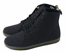 Dr. Martens Men's Alfie Boot Black Canvas Size 13 UK 14 US