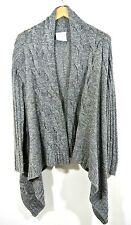 Romeo And Juliet Couture Grey Knit Sweater Top Cardigan S long sleeve  * *1008