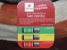 set of Sabai arom Urban Happiness petit trio on-the-go TAKE CONTROL