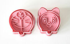 Doraemon Plunger Cutters Set of 2, Sugarcraft, Cake Decorating