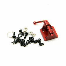 RC 1/10 Chain Hooks w/ Tow Shackle Bracket For RC Crawler Truck Accessory Red
