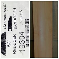 "Bamboo Prefinished Vertical Natural 5/8"" x 72"" Reducer MPN 19804"