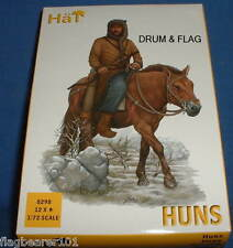 HAT SET 8298 - HUNS - 1:72 SCALE UNPAINTED PLASTIC FIGURES x 12