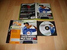 TIGER WOODS PGA TOUR 07 GOLF DE EA SPORTS PARA LA XBOX 360 USADO COMPLETO