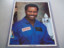 Ronald McNair Autographed 8X10 Photo - STS-51L Challenger Crew Member