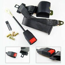 Universal 3 Point Retractable AUTO Car Seat Lap Adjustable Belt Free Shipping