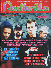 ROCKERILLA 170 1994 Satchel Killing Joke Grant Lee Buffalo Earcandy Jeff Buckley