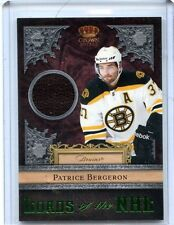 2011/12 PANINI CROWN ROYALE PATRICE BERGERON GAME-WORN