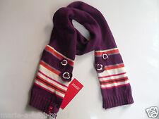 Cache nez écharpe ESPRIT pour fille enfant 50% coton violet NEUF scarf girl TU
