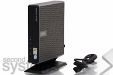 Dell OptiPlex fx160 MINI PC ATOM 230 1,6ghz/1gb di RAM/2gb Flash SSD/piede di supporto