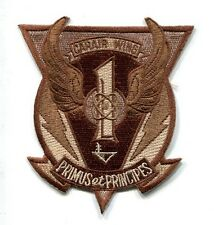 CVW-1 CARRIER AIR WING ONE US Navy Aircraft Carrier Ship Squadron Cruise Patch
