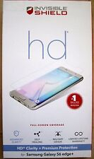 ZAGG Invisible SHIELD HD for Samsung Galaxy S6 edge Plus  Full Screen  Clear