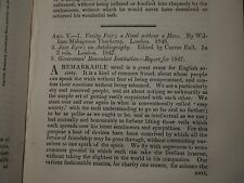 1849 JANE EYRE by CURRER BELL CHARLOTTE BRONTE QUARTERLY REVIEW VOL 84 eddystone