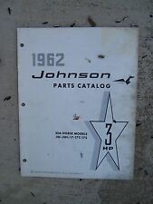 1962 Johnson Sea Horse 3 HP JW - JWL 17 17C 17S Outboard  Parts Catalog  L