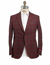NWT ISAIA Napoli Wool~Cashmere~Silk Sportcoat 40 (50) Hand-made in Italy