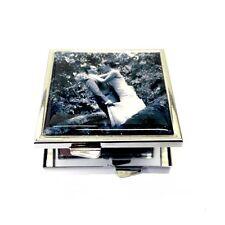 Donna Borsetta Specchio quadrato con la tua foto. regalo di Natale per mamme/mostro/GF
