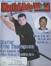 10/01 MARTIAL ART WORLD MAGAZINE ERIC THOMPSON CHUNG KOO NAM BLACK BELT KARATE