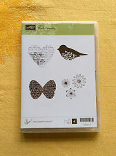 Stampin Up...PUNCH POTPOURRI Clear NEW! Rubber Stamp