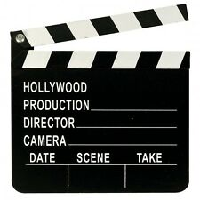 Directors Clapperboard - Hollywood Party Decoration - Clapper Board Film Prop
