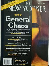 The New Yorker Feb 27 2017 General Chaos Fall of Michael Flynn FREE SHIPPING sb