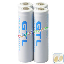 4x18650 10000mAh 3.7V GTL Li-ion Batteria ricaricabile + PCB per LED Flashlight
