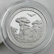 2016-S Shawnee National Forest Clad Proof Quarter in Crystal Clear Coin Capsule