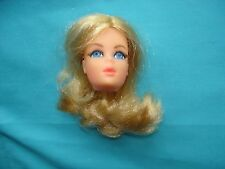 Blonde Live Action Barbie doll head for your 1972 Era Vintage MOD
