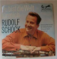 RUDOLF SCHOCK Du bist die Welt für mich (4 Tracks), Vinyl Single