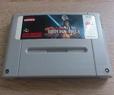 Super Nintendo SNES // Super Star Wars 3 - Return of the Jedi // dt. PAL