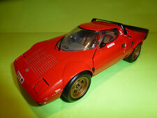 KYOSHO LANCIA STRATOS - RED 1:18 - RARE SELTEN - EXCELLENT CONDITION