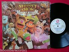 JIM HENSON Muppet Show Musical album LP 1980 ZAFIRO Spain (EX+/EX+) ---Ju