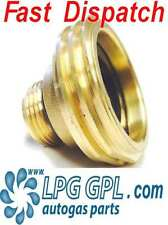 LPG GPL ACME filling point adapter UK to EUROPE Ireland France Propane Autogas