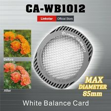 Linkstar White Balance Filter Card CA-WB1012 Suitable for lenses up to 82 mm