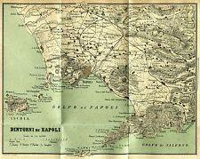 Golfo di Napoli: Campi Flegrei,Ischia,Capri,Sorrento,Castellammare,Vesuvio. 1889