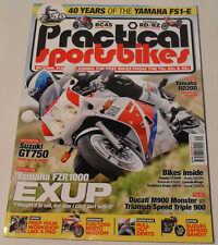 Práctico sportsbikes marzo 2013 Honda RC45, GT750 Suzuki, Yamaha FS1-E, Exup