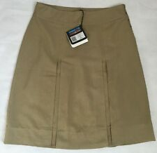 Rohan Ladies Pleated Travel Linen Skirt Size 18. BNWT