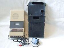 1970s MasterWork Cassette Player with Case and AV Adaptor