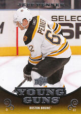 10/11 UPPER DECK YOUNG GUNS ROOKIE RC #207 JEFF PENNER BRUINS *10915